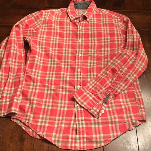 🔥 J.crew Woven Shirt, Tailored by J.crew, S